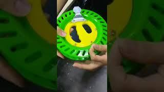 How to tie kite line to kite reel