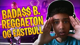 REACTION   BADA$$ B.   Reggaeton Ft. OG Eastbull (Prod. Razihel)