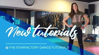 New Tutorials! @The Starfactory Dance Tutorials - Easy Fitness Dance
