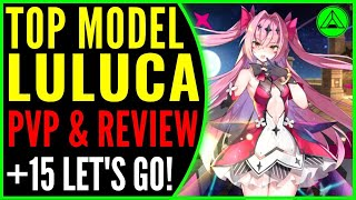 Top Model Luluca PVP & Review (Is She Good?) 🔥 Epic Seven ML Luluca