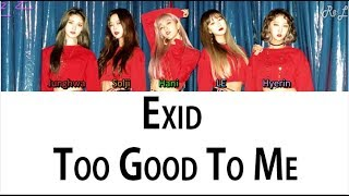 EXID - Too Good to Me (Japanese ver.)