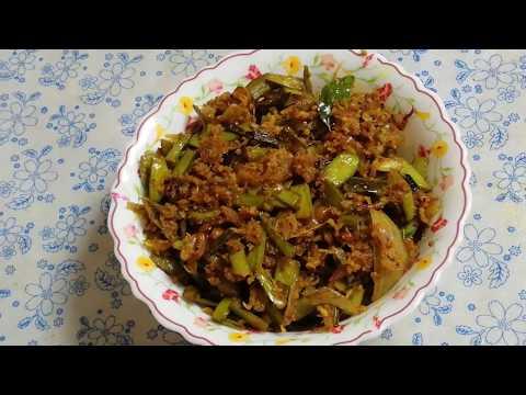 Goruchikkudu kobbari vepudu || Cluster beans coconut fry