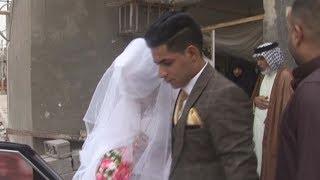 زفه عراقيه خرافيه عريس و عروس شاهد شسوه العريس