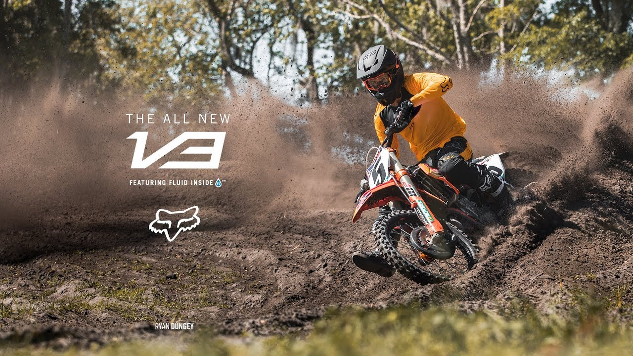 Ryan Dungey – Fox V3 Helmet