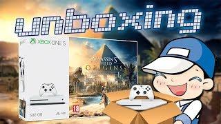 Déballage Xbox One S - Bundle Assassin's Creed Origins
