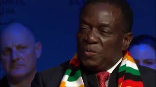 One-on-one with Zimbabwean President Emmerson Mnangagwa