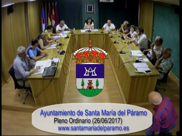 Pleno Ordinario 26-06-2017