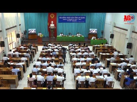 Khai mạc kỳ họp lần thứ 7 HĐND tỉnh khóa IX