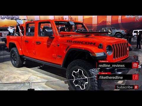 Download 2020 Jeep Gladiator – Redline: First Look – 2018 ...