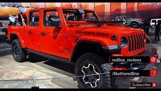 2020 Jeep Gladiator – Redline: First Look – 2018 LA Auto Show
