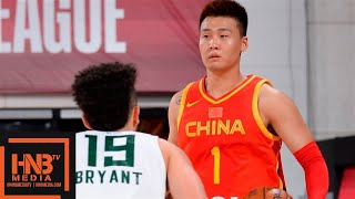 China vs Milwaukee Bucks Full Game Highlights | July 10 | 2019 NBA Summer League