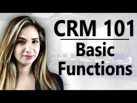 A Visual Guide to CRM Basic Functionality Using Dynamics 365