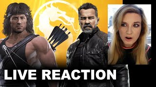 Mortal Kombat 11 Rambo vs Terminator Trailer REACTION by Beyond The Trailer