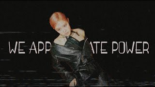 Blackpink - We appreciate Power「 𝖿𝗆𝗏 」