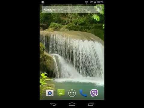 Video of Tropical waterfall Video LWP