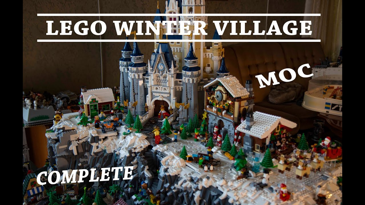 LEGO winter Village Moc Complete