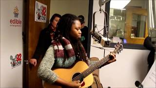 Anita Antoinette, from 'The Voice,' on Moose Morning Show