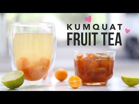 Video Kumquat Fruit Tea (Taiwanese Style Tea Shop Recipe)
