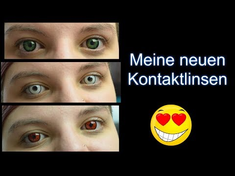 Meine neue Kontaktlinsen