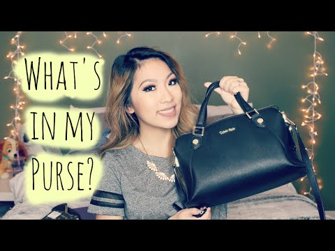 WHAT'S IN MY PURSE? | BeautyByBrinax3