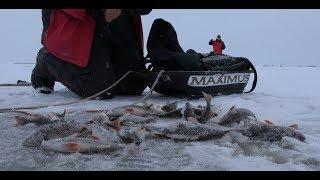 Рыбалка на озере ильмень зима