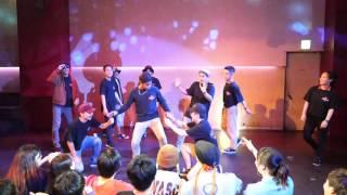 THE ムササビ Beat Around vol.18 慶應大 ダンスサークル Revolveイベント
