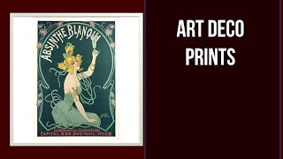 5 Best Art Deco Prints On The Market In 2020