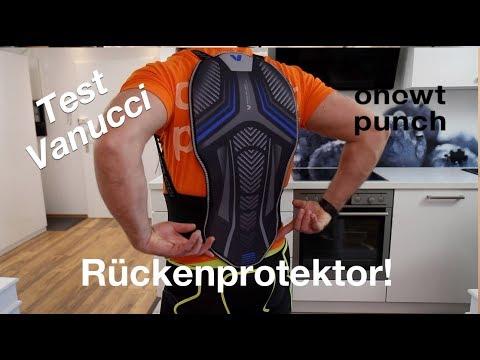 Test Rückenprotektor Vanucci. Snowboard, Ski, Mottorad, oder Kampfsport! One Two Punch