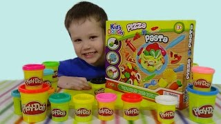 Готовим пиццу из Play Doh