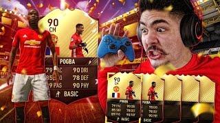 WE PACKED 2 INFORM POGBAS! GUARANTEED TOTW PACKS! FIFA 17