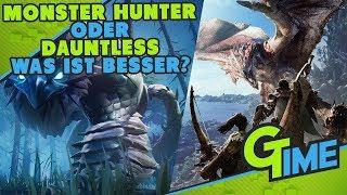 IST DAUNTLESS BESSER ALS MONSTER HUNTER WORLD?! MEINE MEINUNG! - DAUNTLESS DEUTSCH | GAMERSTIME