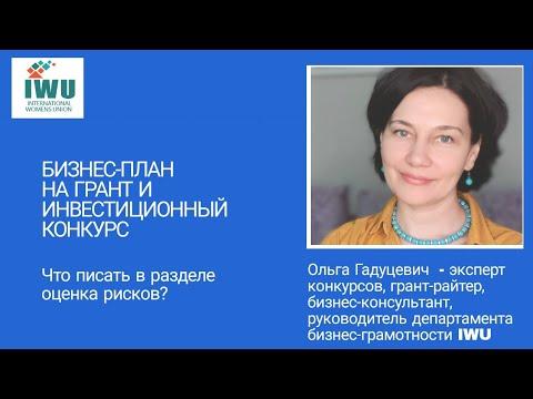 БИЗНЕС ПЛАН: РАЗДЕЛ ОЦЕНКА РИСКОВ