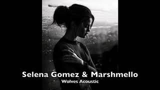 Marshmello & Selena Gomez - Wolves (Acoustic Version)