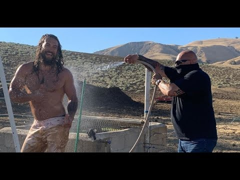 Shirtless Jason Momoa Gets Hosed Off in Muddy Instagram Post: 'Hard to Explain This One' [News]