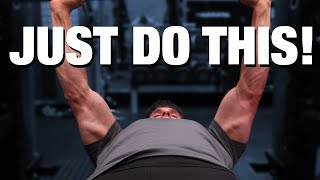"""Bench Press """"BOOSTING"""" Exercise (YOU'RE NOT DOING!)"""