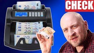 ✅ ZZap NC20i Banknotenzähler & Falschgeld Detektor   Geldzählmaschine Geldzähler Banknotenzählma