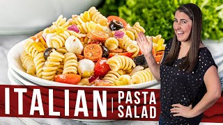 How to Make Italian Pasta Salad   The Stay At Home Chef