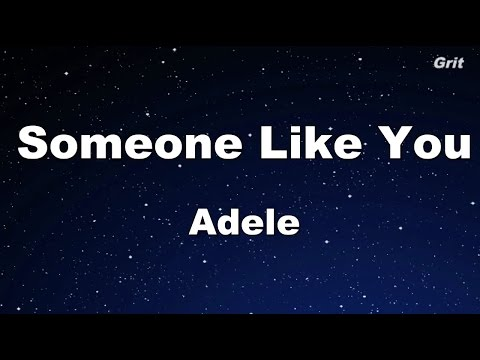 Someone Like You - Adele Karaoke【No Guide Melody】