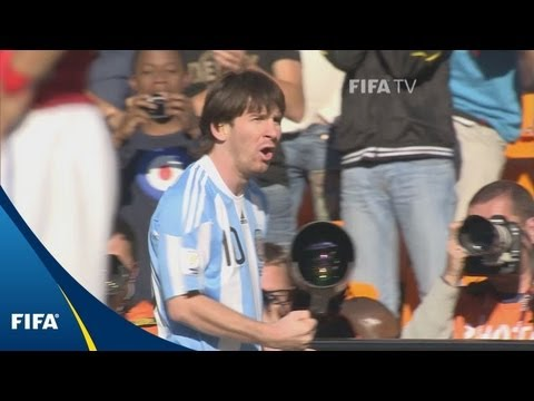 Messi and Argentina blow past Koreans