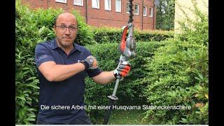 Husqvarna Akku-Stabheckenschere 520iHE3 im Einsatz mit Tipps & Tricks rund um den Heckenschnitt