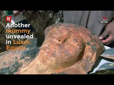 Egypt reveals artefacts, mummy from tombs in Luxor