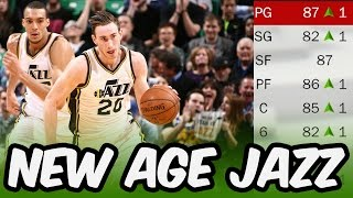 NEW AGE JAZZ! REBUILDING THE UTAH JAZZ! NBA 2K17 My League