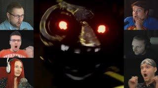 """""""Реакции Летсплейщиков"""" на Сову-Аниматроника из CASE 2: Animatronics Survival"""