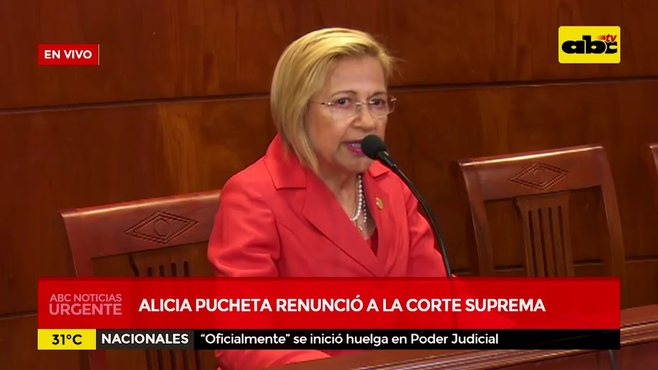 Alicia Pucheta renunció a la Corte Suprema
