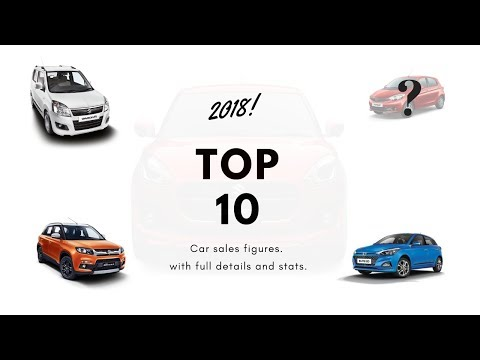 Top 10 Cars Of 2018 | Sales Figures