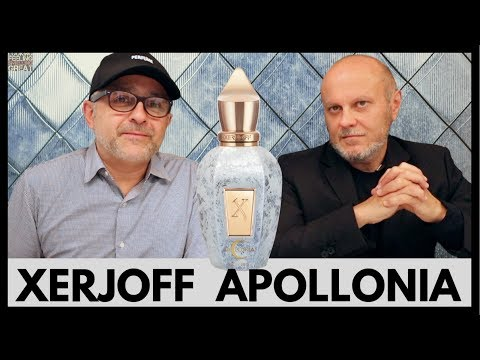 XERJOFF APOLLONIA Fragrance Review W/Sergio Momo