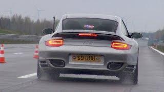 1500HP Porsche 997 Turbo Mk2 ES Motors struggling for traction!
