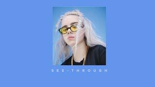 Billie Eilish   See Through (lyric Video)