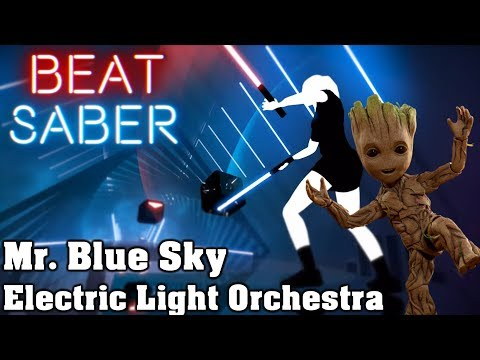 Beat Saber - Mr  Blue Sky - Electric Light Orchestra (custom song