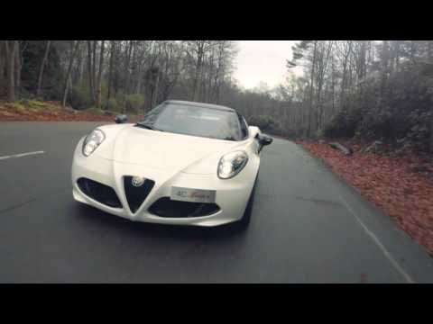 The UK Alfa Romeo 4C Spider 50th Anniversary Limited Edition